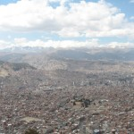 Top-Down Shot of La Paz City